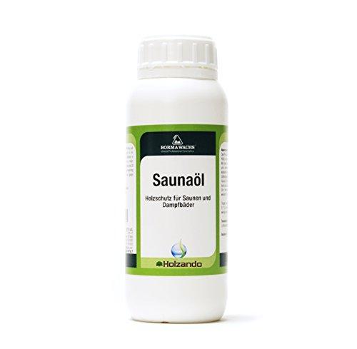 Saunaöl Saunaholz Dampfbad Innenraum Pflege 500ml