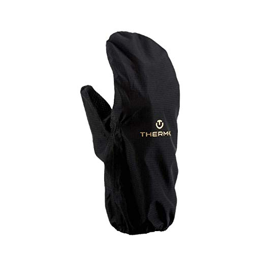 therm-ic Weather Shield Covers Überhandschuhe, Black, M