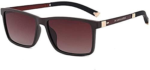 Gafas de sol polarizadas hombres s deportes al aire libre gafas cuadradas