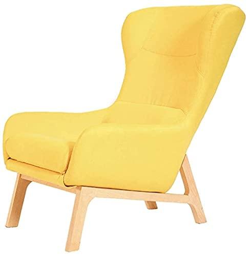 Sofá tapizado individual Silla de invitados, reposabrazos, silla redonda, respaldo de silla, silla de tela, silla de comedor, silla lateral, silla de ordenador para sala de juegos