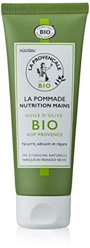 La Provençale – La Pommade Nutrition Mains – Huile d'Olive Bio AOC Provence – Pour Peaux Sèche - 75 ml