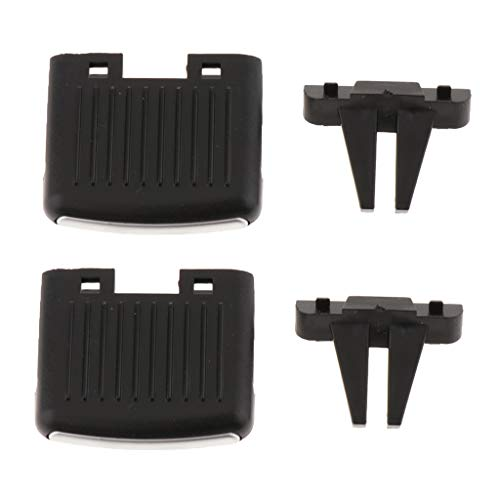 Pack of 2 Air Vent Tabs for VW Sagitar, Upgraded Front A/C Air Vent Outlet Tab Clip Repair Kit for VW Sagitar
