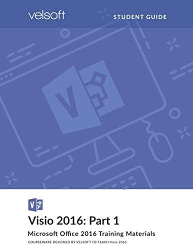 Visio 2016 Part 1 STUDENT GUIDE product image