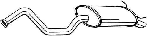 Bosal 278-769 Silencieux arrière
