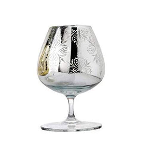 Vidrio Cristal Creativo De Copas De Champán De Brandy De Oro Y Plata Para Bodas/Fiestas Copa De Vino Tinto De Copas De Copas De Brandy, Copas De Brandy De Plata, Copas De Brandy De 450 Ml