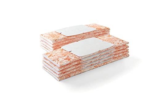 iRobot Originalteile – Feuchtwisch-Tücher für die Serie Braava jet 200 (10 Stück) – Orange – Einweg – Kompatibel mit der Serie Braava jet 200
