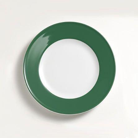 Dibbern Sc Teller Flach 21 cm Fahne Tannengrün