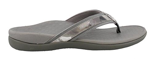 Vionic Women's by Orthaheel, Tide Thong Sandal Gray 8 M