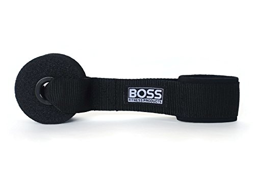 Boss Fitness Products - Extra Large Heavy Duty Door Anchor - Great for Resistance Bands, Physical Therapy Bands, and Closed Loop Bands