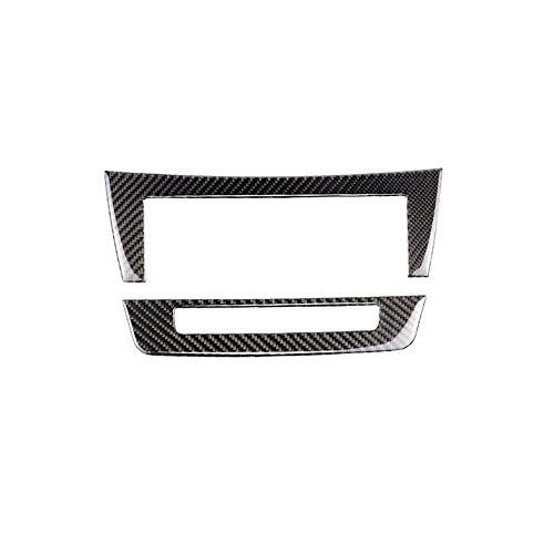 Ahomi Car Rear view Side Mirror Cover Cap Door Mirror Cover Trims Carbon Fiber Pattern Trims Pair