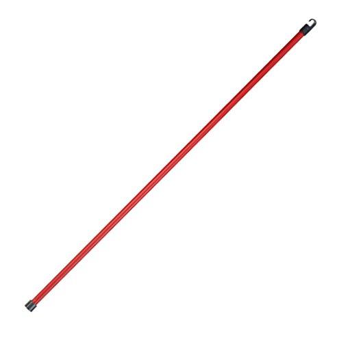Vileda Stange, Metall, Rot, 126 cm