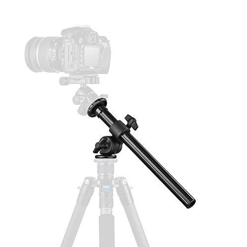 Tycka 三脚ブーム  カメラ延長アーム  縮長32cm 耐荷重5kg  固定&折り畳み&高さ調節可能 傾斜回転  マク...