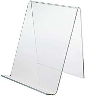Dazzling Displays 3-Pack of Clear Acrylic Book Easels