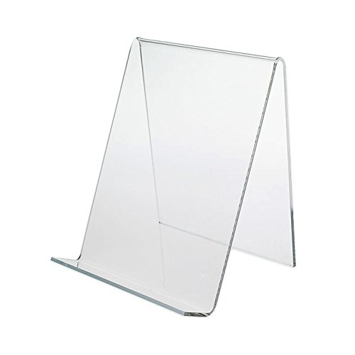 Dazzling Displays Clear Acrylic Book Easels