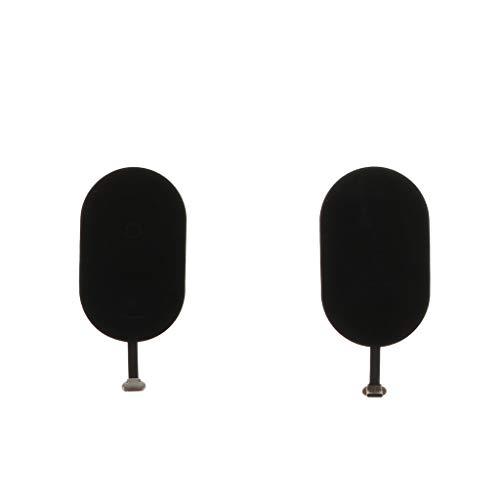 perfk 2 Unidades Almohadas Cargadores de Carga Sin Cables Tipo C Accesorios de Móvil Inteligente