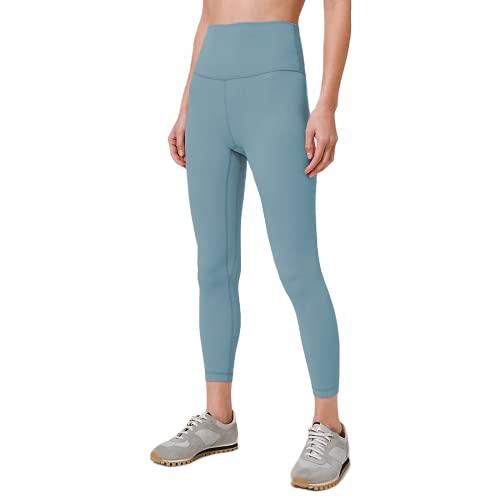 QTJY Pantalones de Yoga de 7 Colores, Nalgas de Cintura Alta para Mujeres, Mallas de Ejercicio para Gimnasia, Pantalones Deportivos al Aire Libre de Secado rápido y Estiramiento A L