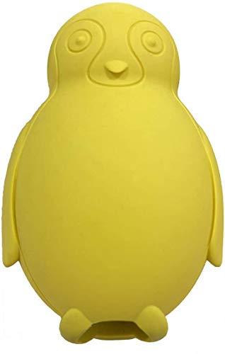 Pinguin Kauspielzeug für Hunde, gefrierbar, füllbar, Leckerlis, Kauspielzeug, Naturkautschuk, interaktives Puzzle-Spiel, Hundespielzeug für kleine, mittelgroße Hunde, Spaß zum Jagen und Apportieren