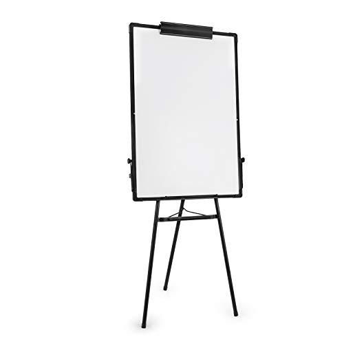BananaB Whiteboard mit Stative 360 Grad magnetische weiße Tafel 60x 90cm Whiteboard Faltbares Standtafel für Büro Hause Schule Labor