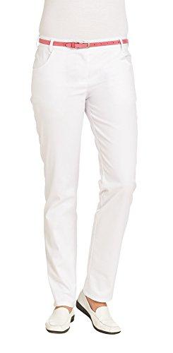 Leiber Damenhose | 08/7230 (7231; 7232) | Classic - Stretch | Weiß | Gr: 40L