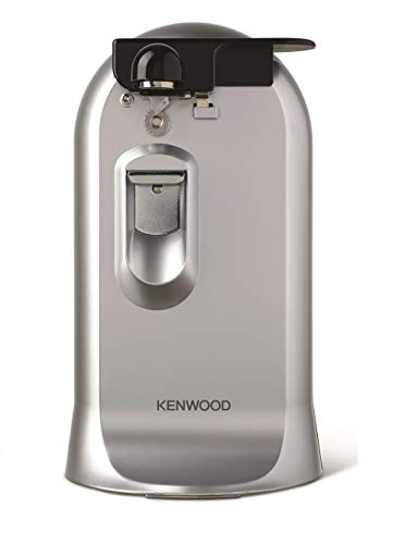 Kenwood CO606.SI - 3-in-1, Can Opener, Knife Sharpener, Bottle Opener, 40 W, Silver