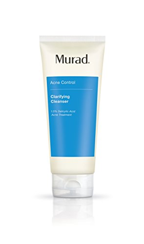 Murad Clarifying Cleanser, Gentle Exfoliating Facial Cleanser with Salicylic Acid 6.75 Fl Oz