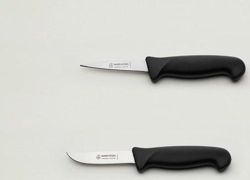 Kaninchenschlachtmesser-Set 2-tlg. Stechmesser + Abhäuter je 8,5 cm = 4