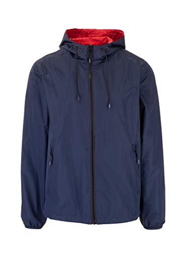 Luxury Fashion | Kenzo Heren FA55BL1511NG77 Donkerblauw Polyester Outerwear Jassen | Lente-zomer 20