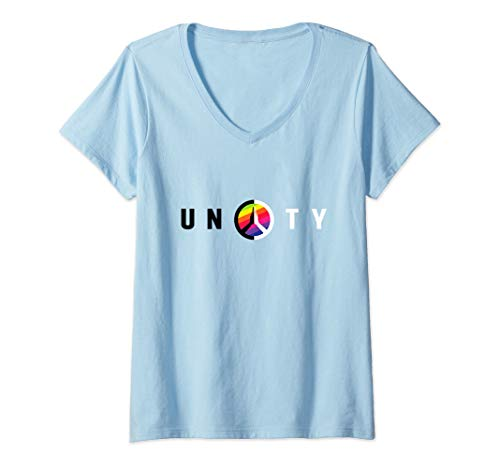 Womens Unity - JVY Creations V-Neck T-Shirt