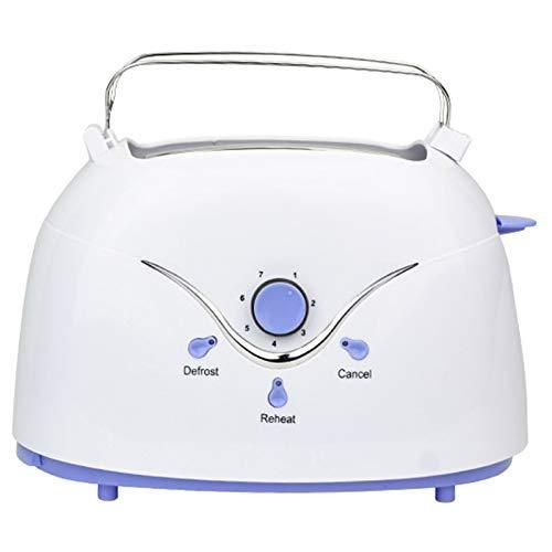 DYB Multifunktionaler Brotbackautomat, Toaster, 600 W Automatischer Brot Toaster Backfrühstücksmaschine Abs Edelstahl 2 Scheiben Brotmaschine
