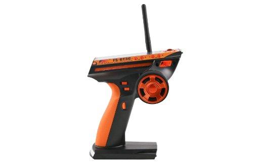 Flysky FS-GT3C FS-GT-3C 3CH Pistole RC-Controller / w Empfänger TX-Batterie USB-Kabel FS-GT3B aktualisiert (Orange)