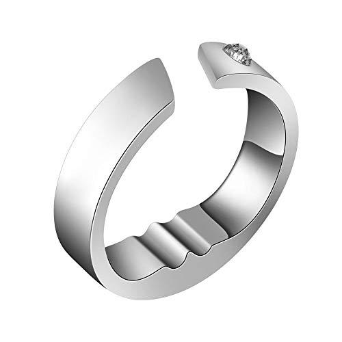Anti Schnarch Ring, Der Ring gegen Schnarchen, Akupressur ring für Gute Schlafzeit, Geeignet für Männer und Frauen (Größe optional)(XL)