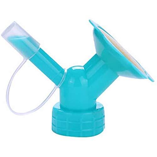 2 en 1 Botella de riego por aspersión Accesorio botella de agua de la cápsula de regar las plantas Botella Inicio jardinero Canalón de agua de riego for el riego de las flores XX Kk ( Color :