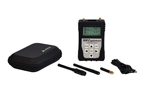 RFandEMF RF Explorer 6G Combo-Handspektrumanalysator mit farbigem Schutz Boot & Case, USB-Kabel und kostenlos herunterladbarer Software für Windows und Mac enthält RF- und Wi-Fi-Analysator (schwarz)