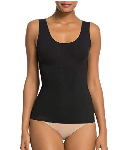 Spanx Thinstincts Maglietta Modellante, Nero (Very Black 000), 56 (Taglia Produttore: 1X) Donna