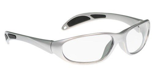Schott SF-6 HT X-Ray Protective Lead Glasses, Gray Maxx Wrap Safety Frame, 62x18x145mm