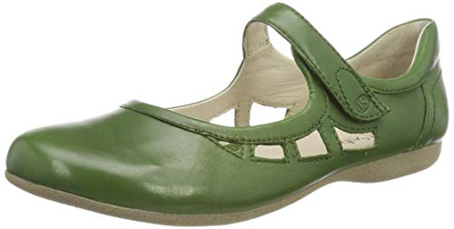 Josef Seibel Damen Riemchenballerinas Fiona 55,Weite G (Normal),Slipper,Slip-ons,Sommerschuhe,spangenballerinas,Mary-Jane,Lady,grün,38 EU / 5 UK