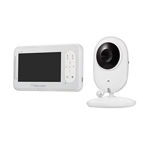 EDENCOMER Baby-Monitor 4,3-Zoll-Wireless Video mit Kamera, Infrarot-Nachtsicht, Zwei-Wege-Audio, Temperaturüberwachung, Lullabies für Baby/Elder/Tier