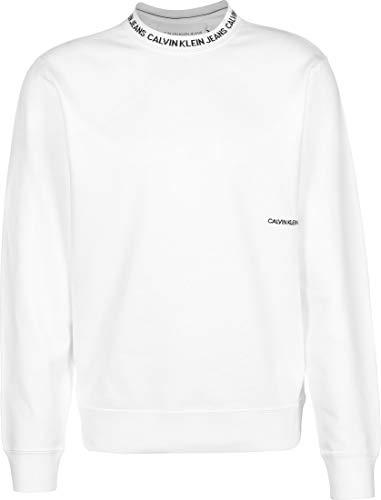 Calvin Klein Jeans Institutional Collar Sudadera White