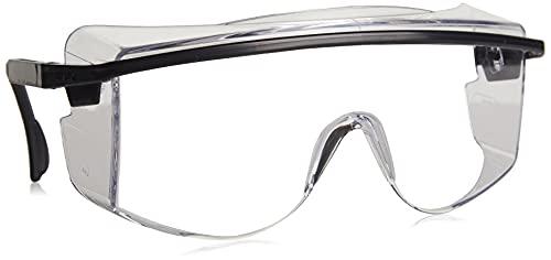 UVEX by Honeywell S2500C Astrospec OTG 3001 Safety Eyewear, Black Frame, Clear UV Extreme Anti-Fog Lens, Uvex S2500C Astrospec OTG 3001 Safety Eyewear, Black Frame, Clear UV Extrem
