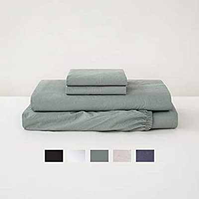 Tuft & Needle, Percale Sheet Set, 215 Thread Count, 100% Cotton - Assorted Colors and Sizes