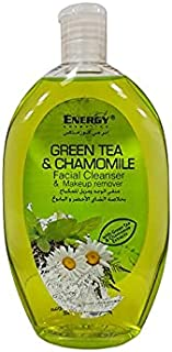 ENERGY COSMETICS Green Tea and Chamomile Facial Cleanser and Makeup Remover, 235 ml