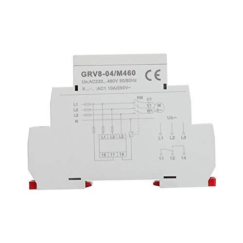 3 Phasen Überwachungsrelais, Spannungsüberwachungsrelais Phasenfolge Phasenausfallschutz M460 (GRV8 04)