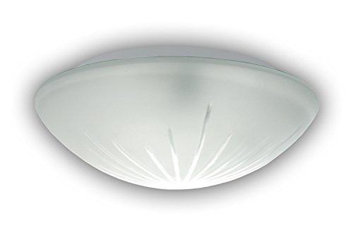 Niermann Standby Lampada in vetro, da A++ a E, Vetro, Schliffglas satiniert, 20 x 8, E14 230 volts