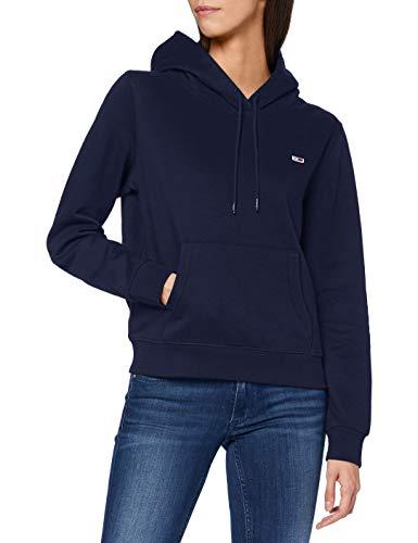 Tommy Jeans Damen TJW Regular Fleece Hoodie Pullover, Marineblau (Twilight Navy), M