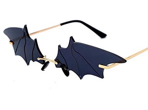 Polarisierte Sonnenbrille,Mode Schwarz Grau Batman Gradient Spiegel Komfort Sonnenbrille Uv400 Zum Laufen Radfahren Angeln Fahren Golf Casual Sportbrillen