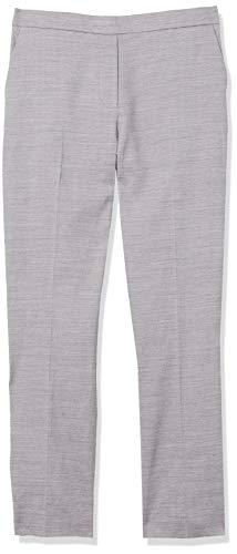 Theory Women's Treeca Pull On Pant, Lavender Melange, 0/0