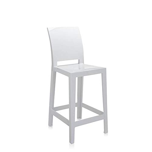 Kartell Set 2 One More Please Tabouret h.65 cm Blanc