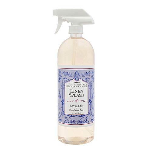 Scentennials Lavender Linen Spray 32oz - A Must Have for All Your linens, Laundry Basket or just Spray Around The House.