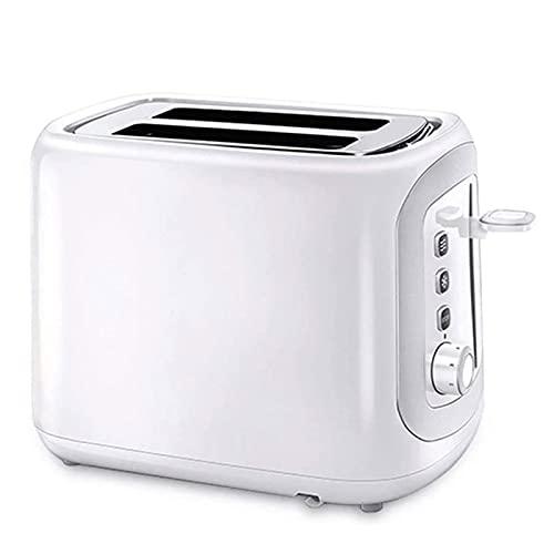 Adesign Tostadora Rebanada doméstica Máquina Multifuncional Máquina de Desayuno Tostadora pequeña Tostada de Suelo Hot 2 rebanadas Desayuno Spit Driver