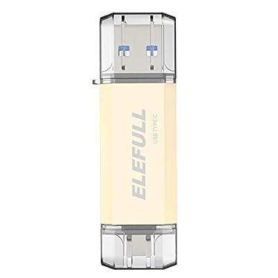 Type C USB Flash Drive ELEFULL (64GB USB/USB C)